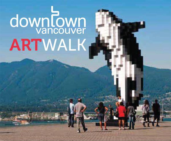 Downtown-Vancouver-art-walk