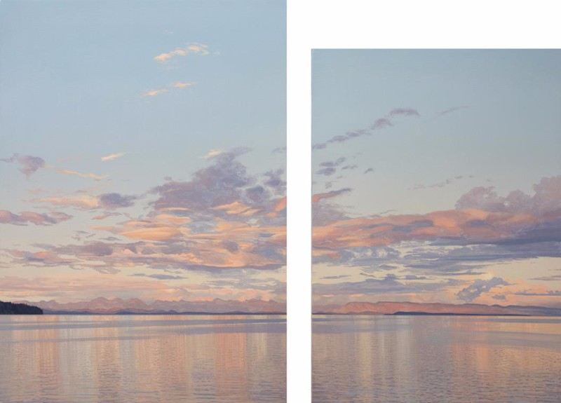 BIRCH-Salish-Sea-Sunset2015ac34x45diptych
