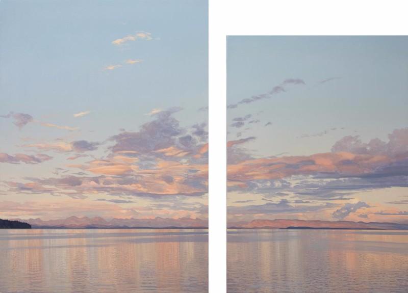 BIRCH-Salish-Sea-Sunset2015ac34x45diptych