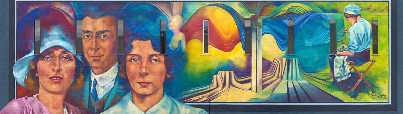 caetani-mural