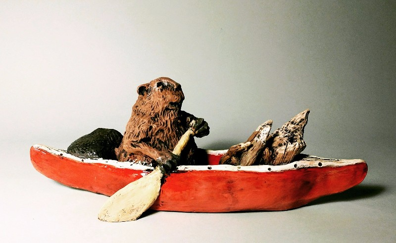 Beaver-on-a-Boat