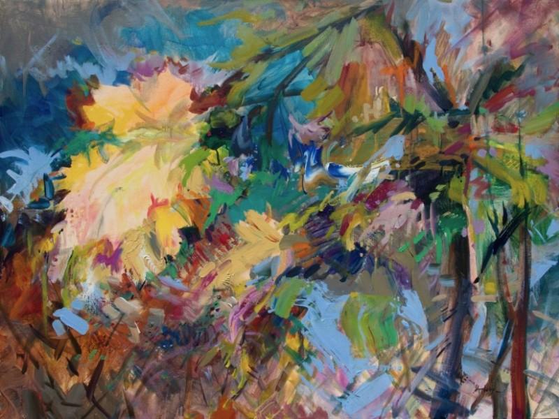 Autumn-Song-30-x-40-Acrylic-on-Canvas