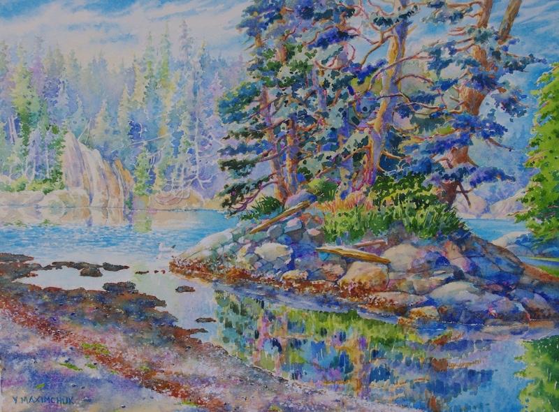 watercolor-low-tide-yvonne-maximchuk