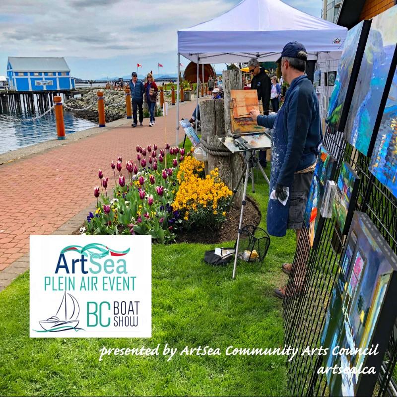 Plein-Air-at-the-BC-Boat-Show-ArtSea