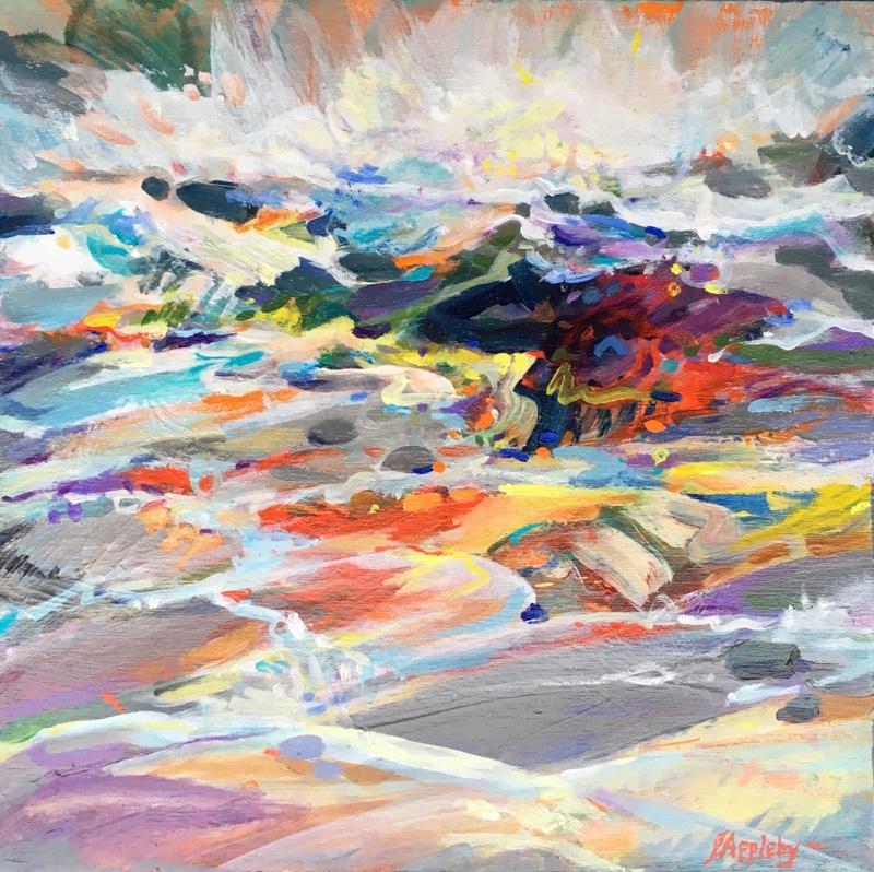 Coastal-Lyrical-Expression-1-12-x-12-Acrylic-on-Cradled-Wood-Jane-Appleby