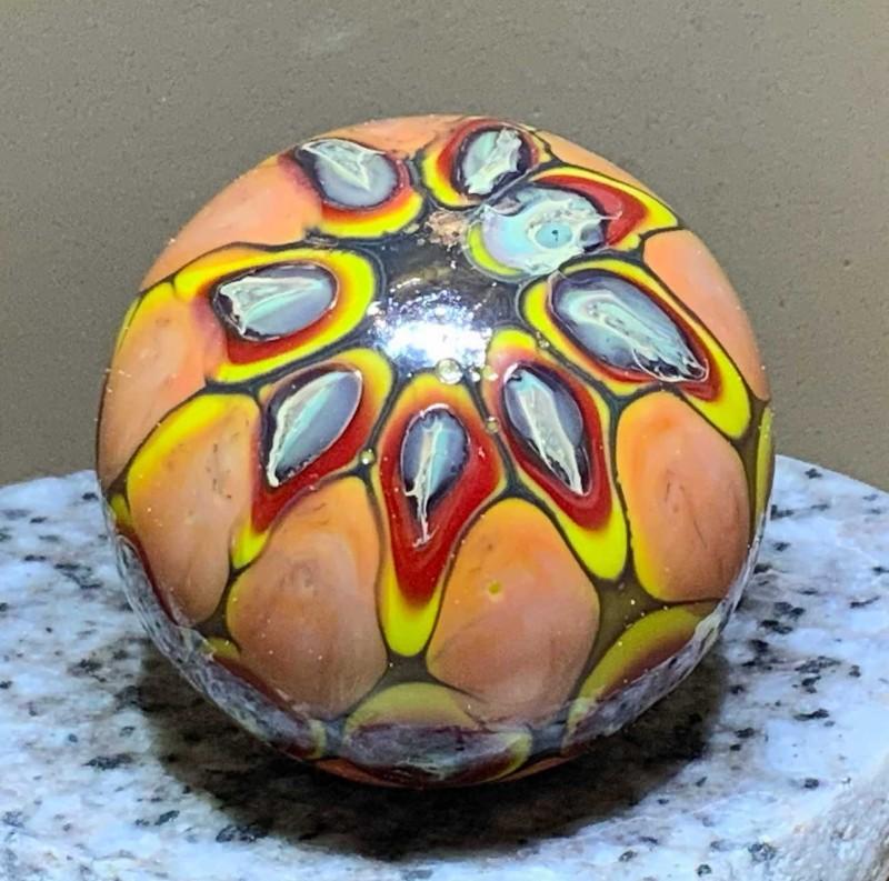 Autumn-glory-blown-glass-hollow-Flow-Studio-Designs-Diane-Brinton