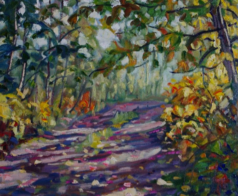 Klondike-Side-Trail-20-x-24-Oil-on-Canvas
