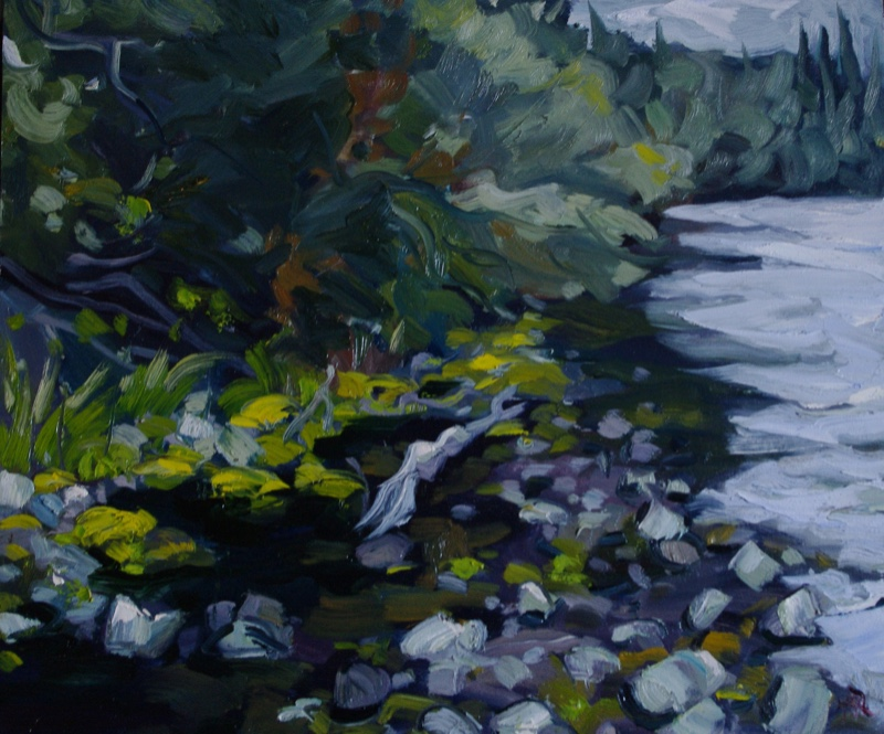 Moosey-Shore-20-x-24-Oil-on-Panel
